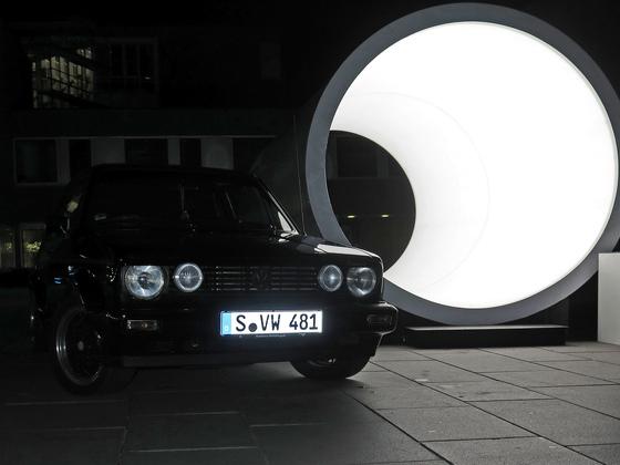 Golf Cabrio Röhre die2te