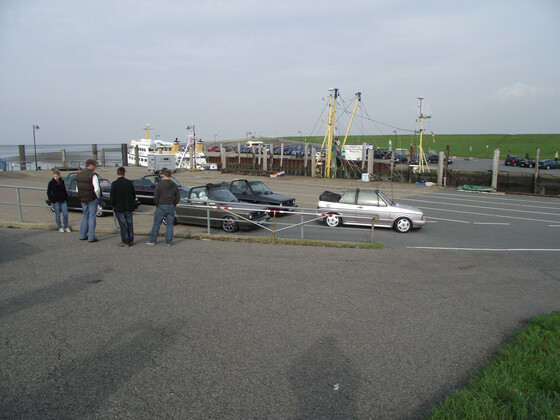 erste Sandschollentour 2011