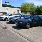 Kleines Treffen am VW-Museum in WOB