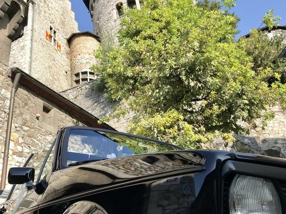 Am Fuße der Stolberger Burg